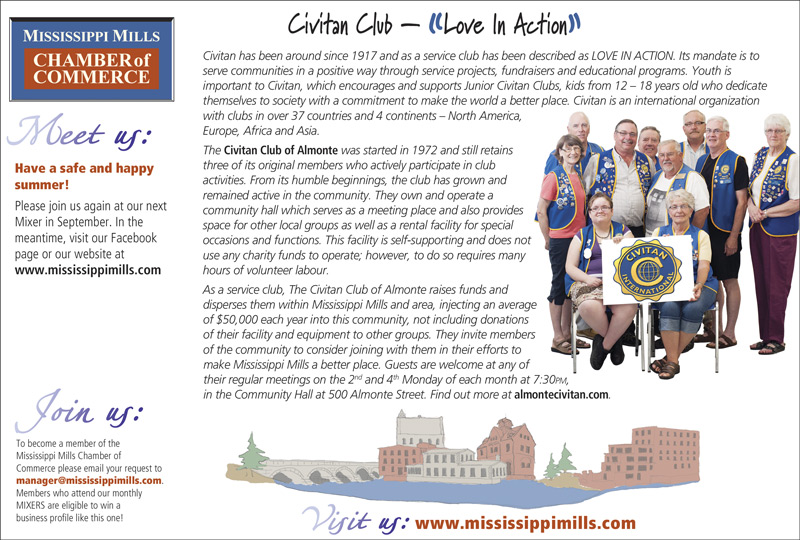 MM Chamber of Commerce Promotes Civitan